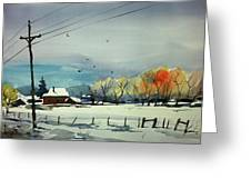 Watercolor_3508 Greeting Card