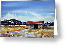 Watercolor3557 Greeting Card