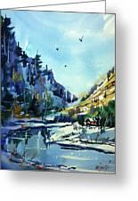 Watercolor3810 Greeting Card