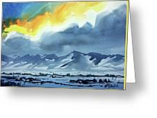 Watercolor3987 Greeting Card