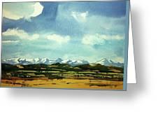 Watercolor4014 Greeting Card