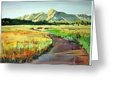 Watercolor4476 Greeting Card