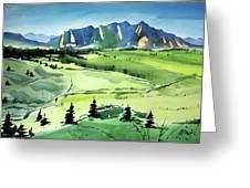 Watercolor4509 Greeting Card