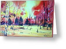 Watercolor4632 Greeting Card
