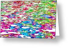 Watercolors Greeting Card