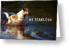 Waterdog Quote Greeting Card