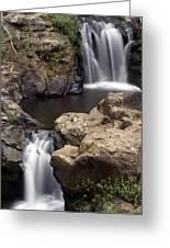Waterfall 54 Greeting Card