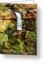 Waterfall Beauty Greeting Card