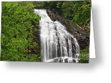 Waterfall Closeup Greeting Card