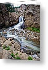 Boulder Falls Greeting Card