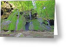 'waterfall Greeting Card