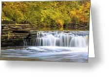 Waterfall Glen, Lemont, Il Greeting Card
