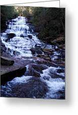 Waterfall In Georgia Greeting Card