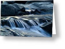 Waterfall Locomotion Greeting Card