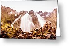 Waterfall Scenics  Greeting Card