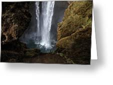 Waterfall Splash Greeting Card