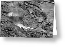 Waterfall Stream Greeting Card