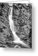 Waterfall Study 1 Greeting Card