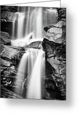 Waterfall Study 3 Greeting Card