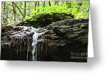 Waterfall Topper Greeting Card