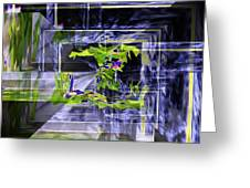 Waterfall Vortex Greeting Card