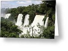 Waterfall Wonderland Greeting Card