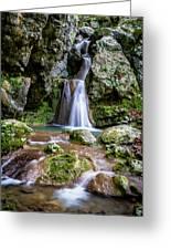 Waterfall. Greeting Card