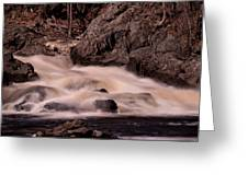 Waterfalls #1 Greeting Card