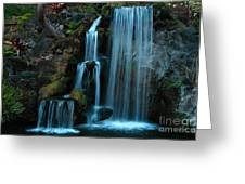 Waterfalls Greeting Card by Clayton Bruster