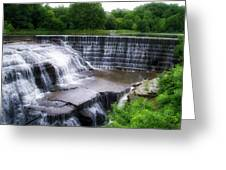 Waterfalls Cornell University Ithaca New York 05 Greeting Card