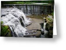 Waterfalls Cornell University Ithaca New York 06 Greeting Card