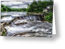 Waterfalls Cornell University Ithaca New York 07 Greeting Card