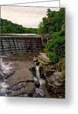 Waterfalls Cornell University Ithaca New York 08 Vertical Greeting Card