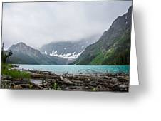 Waterfowl Lakes Greeting Card