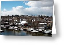 Waterfront After The Storm Greeting Card