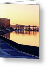 Waterfront Deep Greeting Card