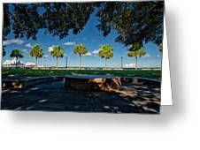 Waterfront Park. Greeting Card