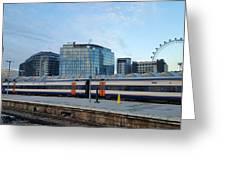 Waterloo Station Greeting Card