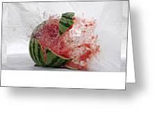 Watermelon Progression Greeting Card