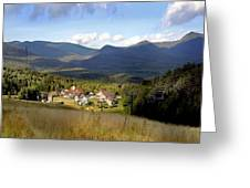 Waterville Valley Ski Area Greeting Card