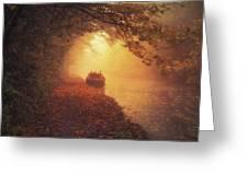Waterway Sunrise Greeting Card