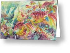 Watery World 2 Greeting Card