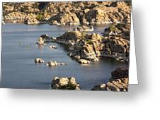 Watson Lake Adventures Greeting Card