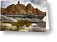 Watson Lake Arizona 11 Greeting Card
