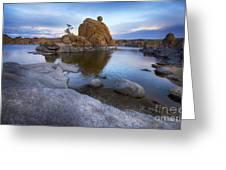 Watson Lake Arizona 14 Greeting Card
