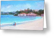 Watsons Bay Sydney Harbour - Doyles On The Beach Restaurant Greeting Card