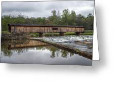 Watson's Mill Covered Bridge Greeting Card