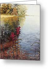 Watts Bar Lake Rockwood Tn Greeting Card
