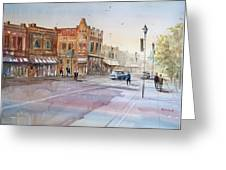 Waupaca - Main Street Greeting Card