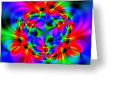 Wave 010a Greeting Card